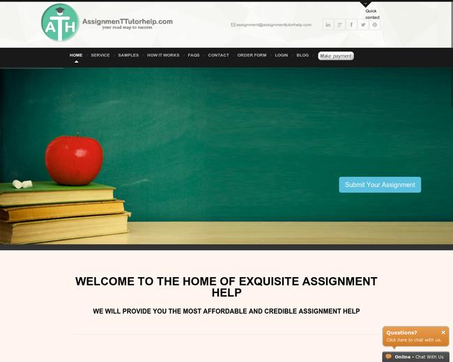 Assignment Tutor Help