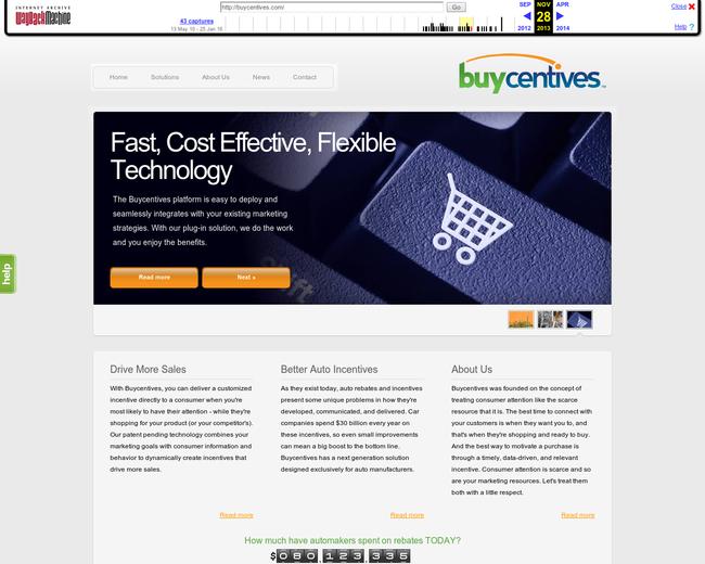 Buycentives