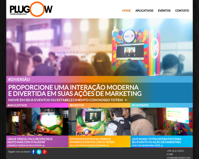 Plugow - interactive totem