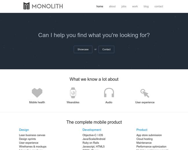 Monolith Apps