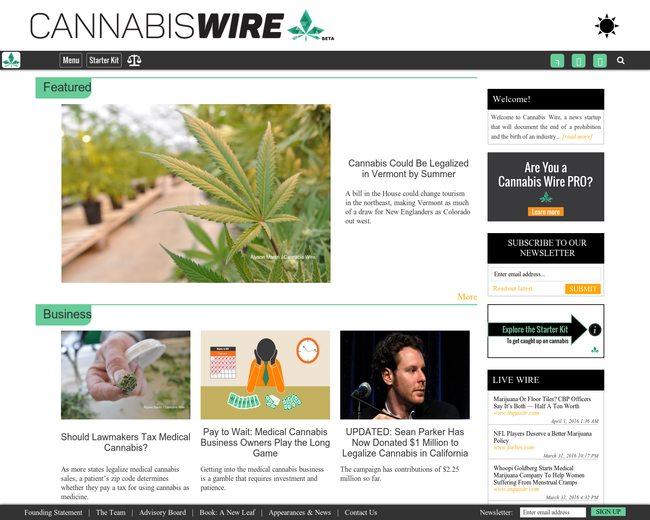 Cannabis Wire