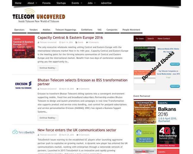 Telecom Uncovered