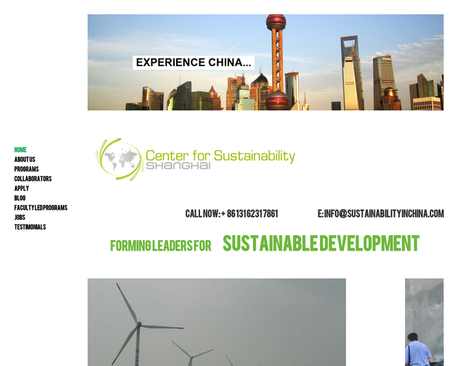 Center for Sustainability Shanghai