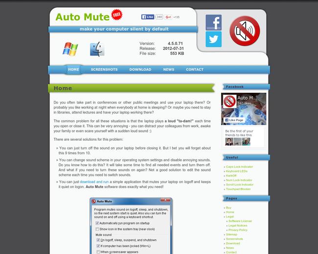 Auto Mute