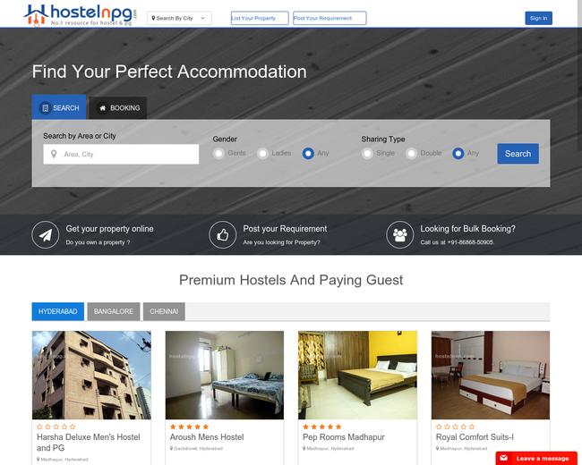 Hostelnpg Online Services