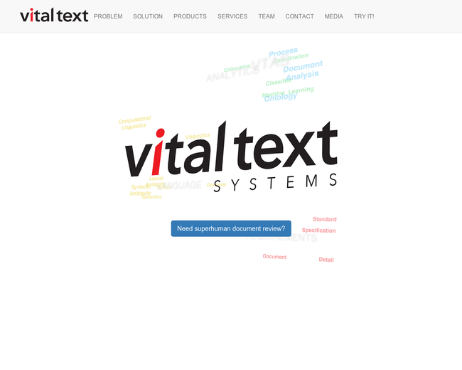 Vital Text Systems