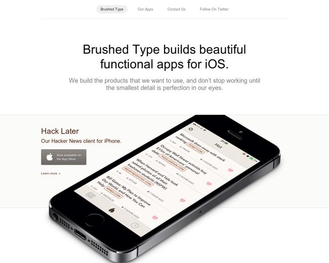 Brushed Type