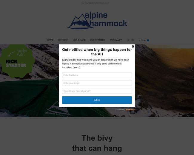 Alpine Hammock