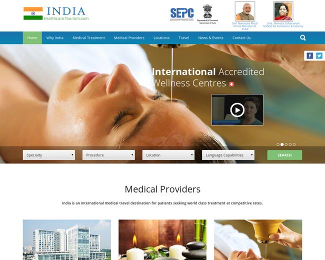 India Healthcare Tourism