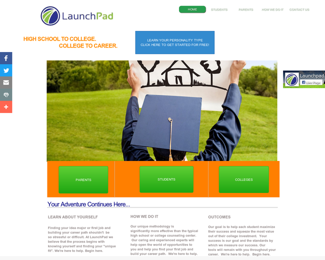 LaunchPad College on Iterate Studio
