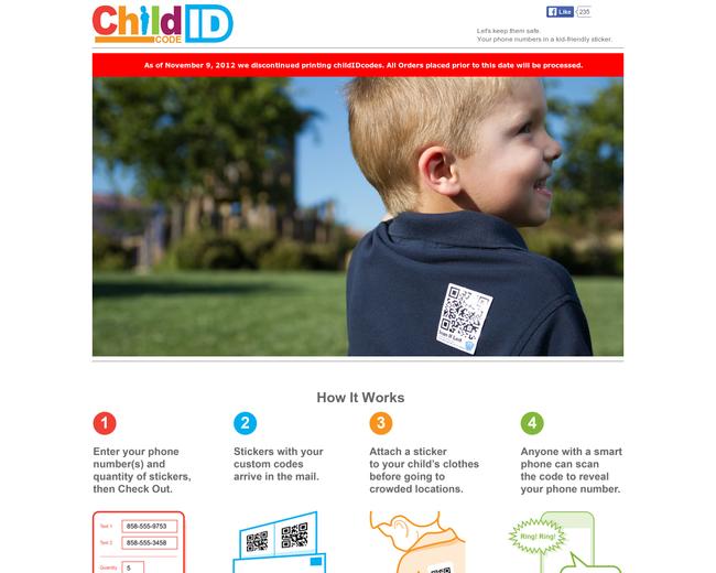 childIDcode
