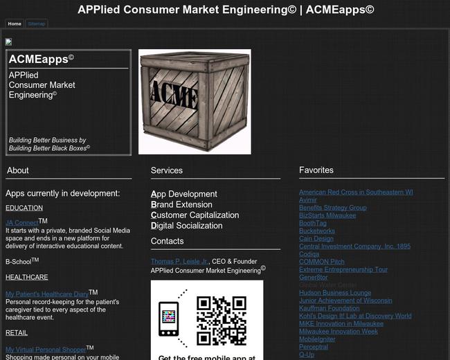 APPlied Consumer Market Engineering