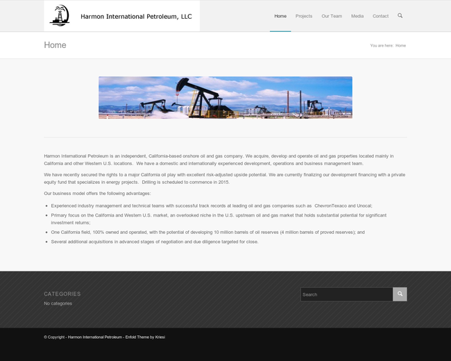 Harmon International Petroleum