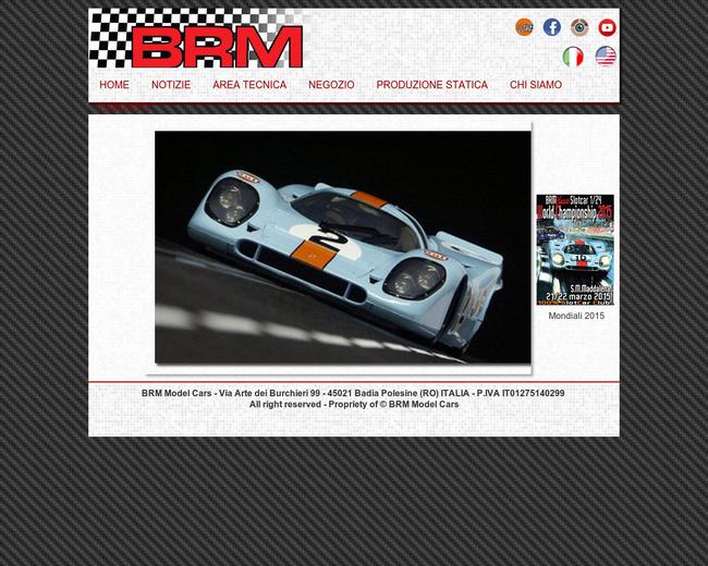 BRM Model Cars