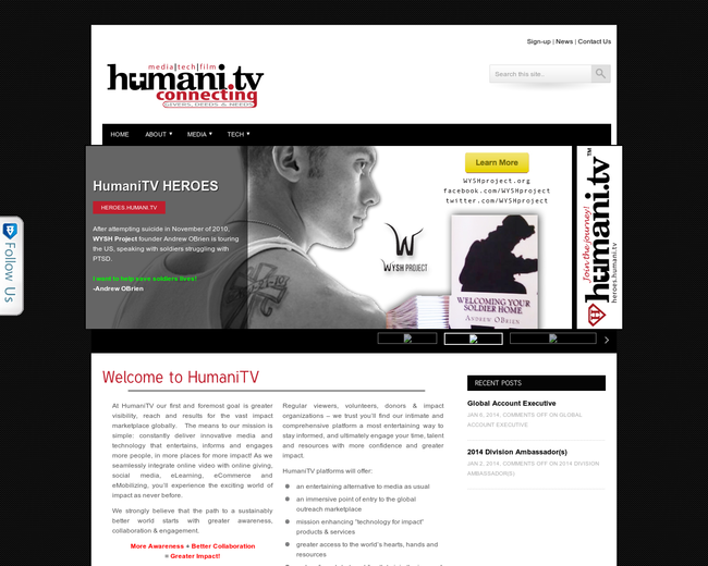 HumaniTV: Media | Tech | Film