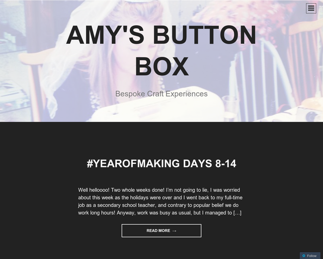 Amy's Button Box