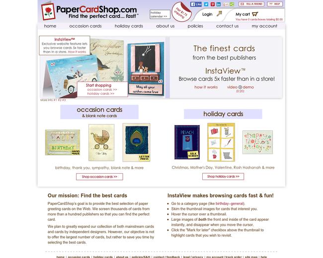 PaperCardShop