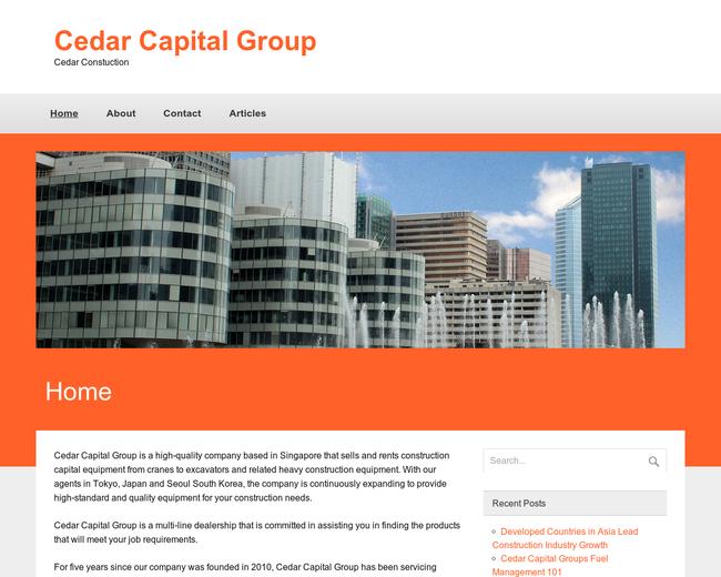 Cedar Capital Group Tokyo Japan