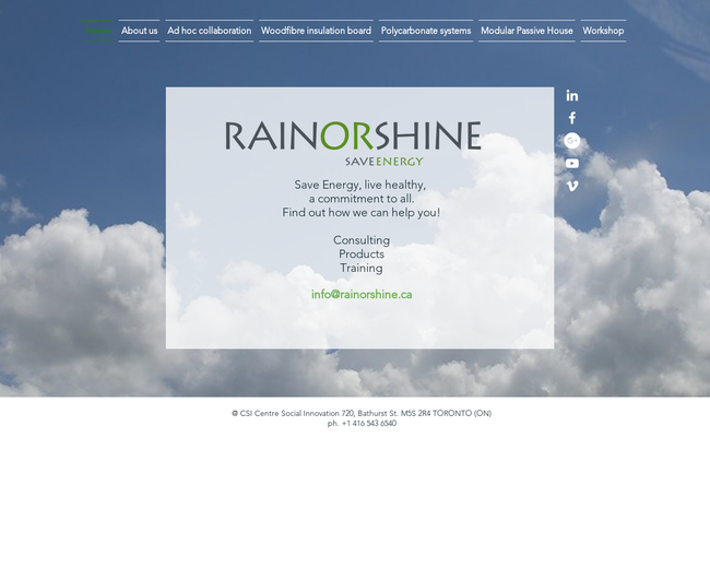 RainOrShine save energy