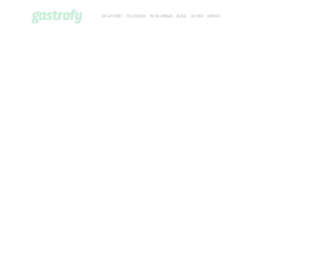Gastrofy
