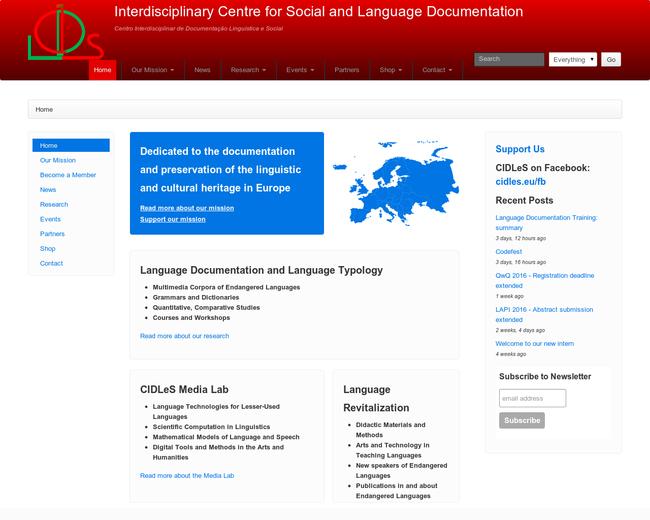 Centro Interdisciplinar de Documentação Linguística e Social