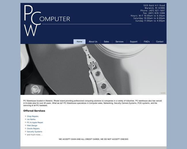 PCW computer