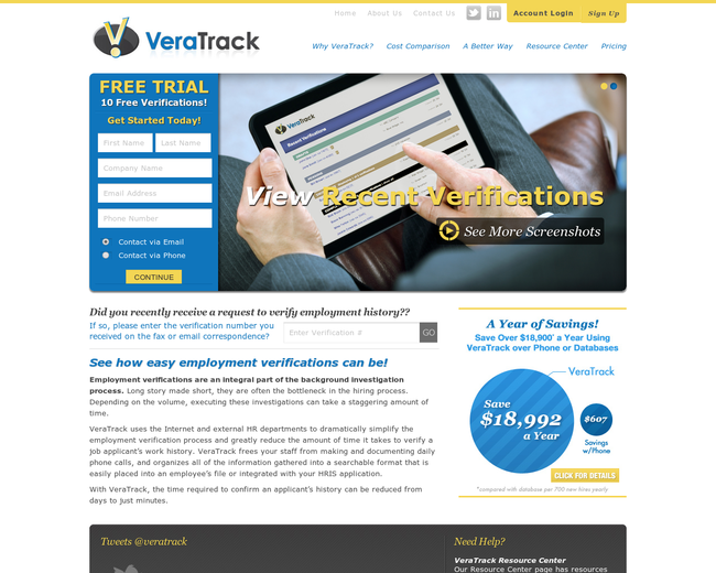 VeraTrack