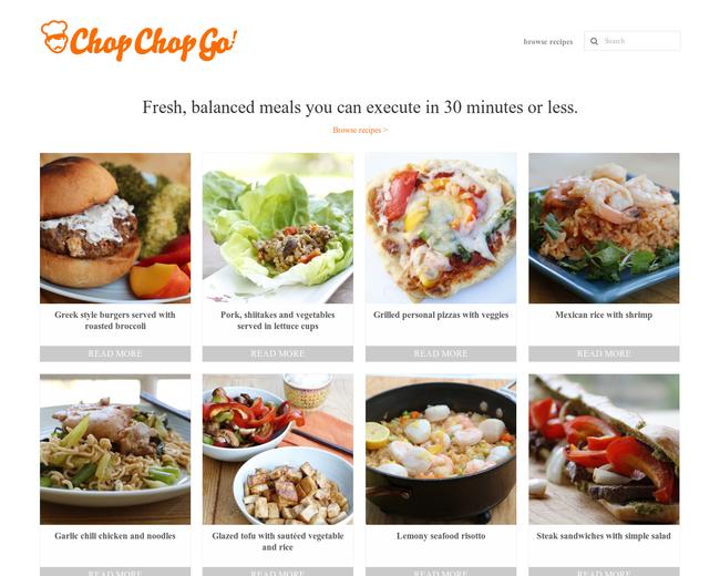 Chop Chop Go