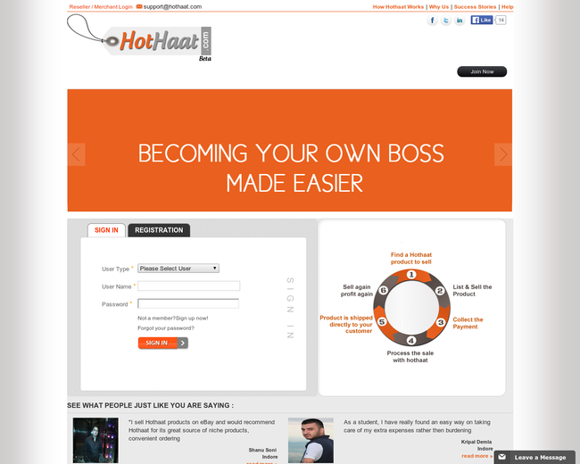 Hothaat Marketplace Incorporation