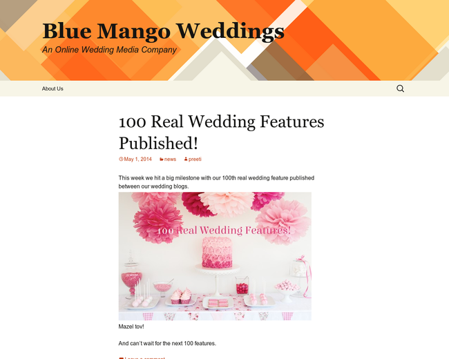 Blue Mango Weddings