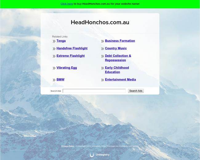 Headhonchos.com