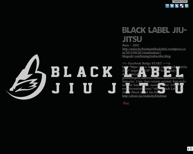 Black Label Jiu Jitsu