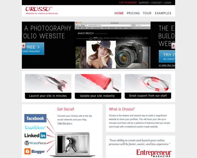 Orosso Websites