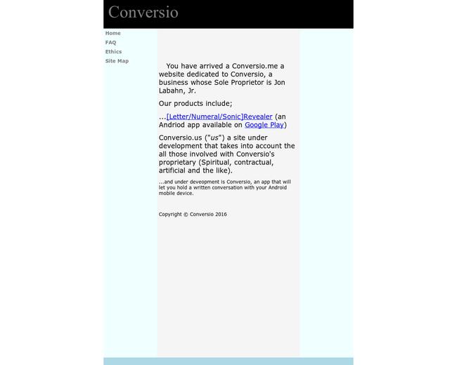 Conversio