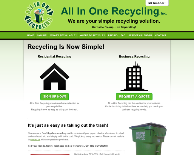 All in One Recycling
