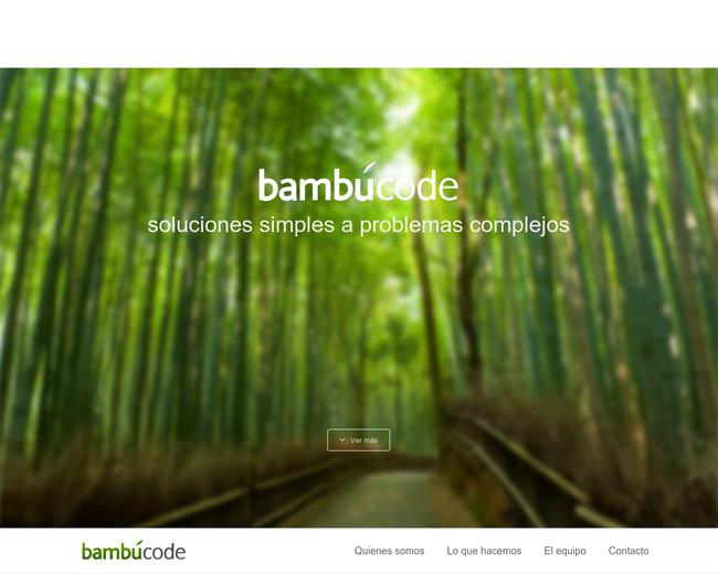 Bambú Code SA de CV