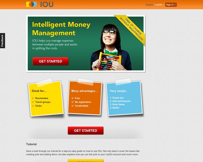 IOU - Intelligent Money Management