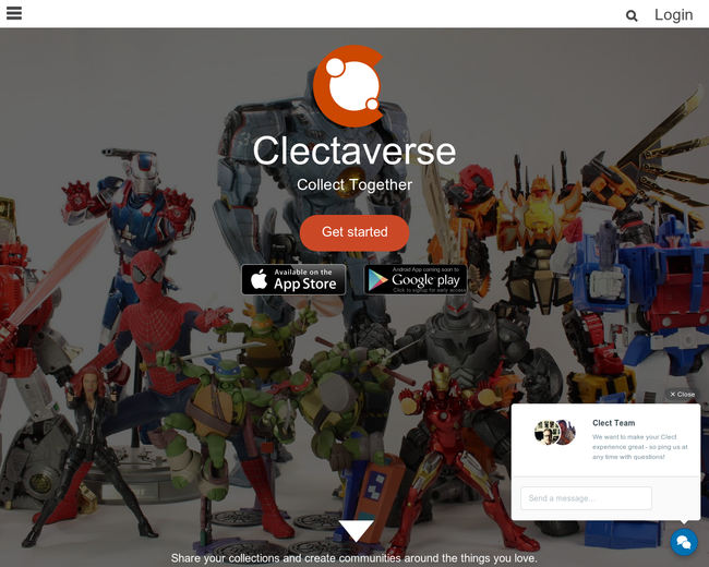Clectaverse - Collect Together.