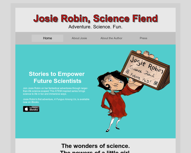Josie Robin, Science Fiend