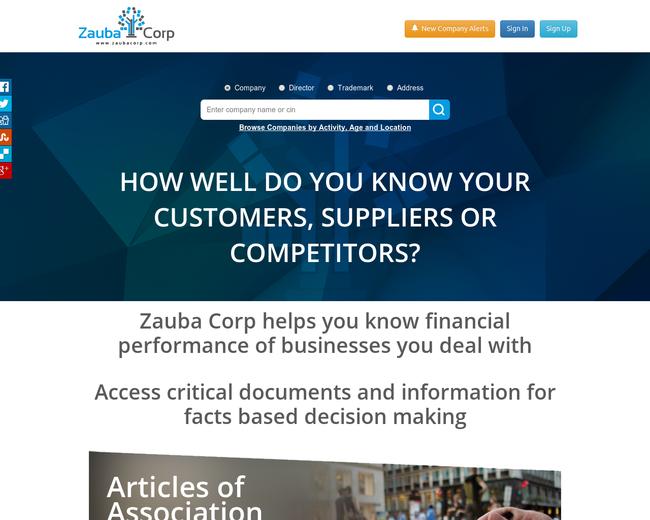 Zauba Technologies & Data Services