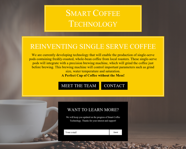 Smart Coffee Technology