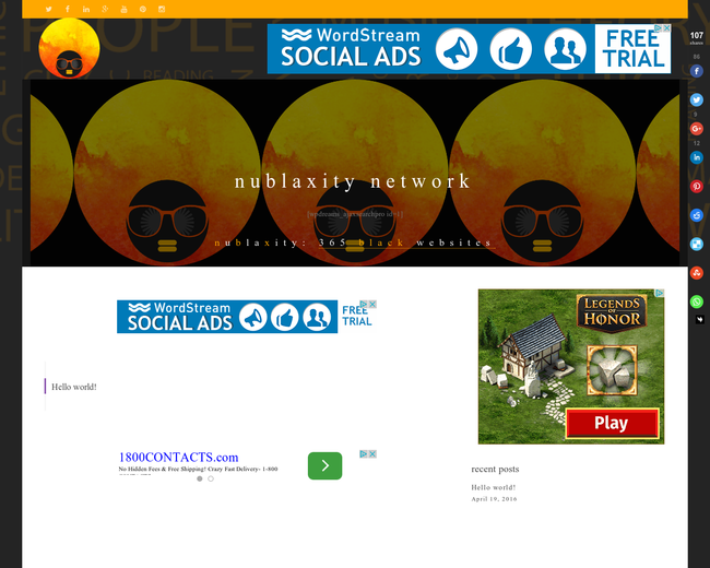 NuBlaXity On-Line NetWork