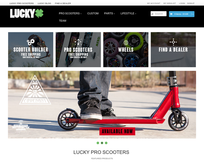 Lucky Scooters