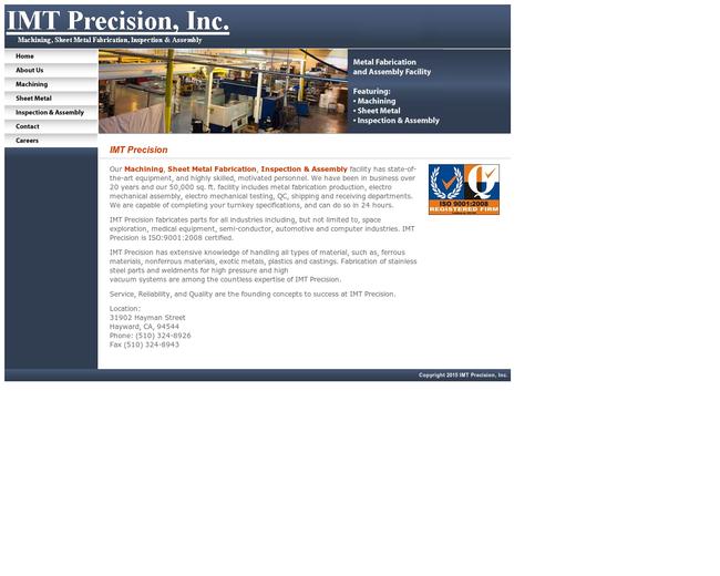 IMT Precision