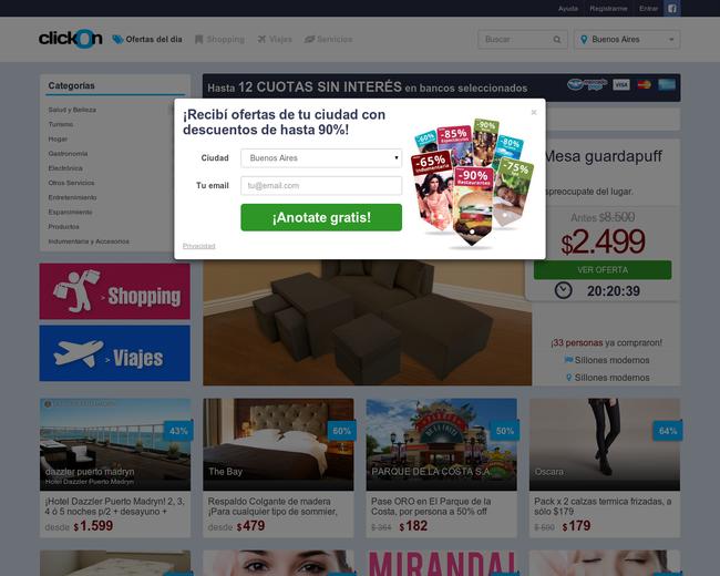 clickOn Argentina