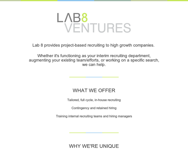 Lab 8 Ventures