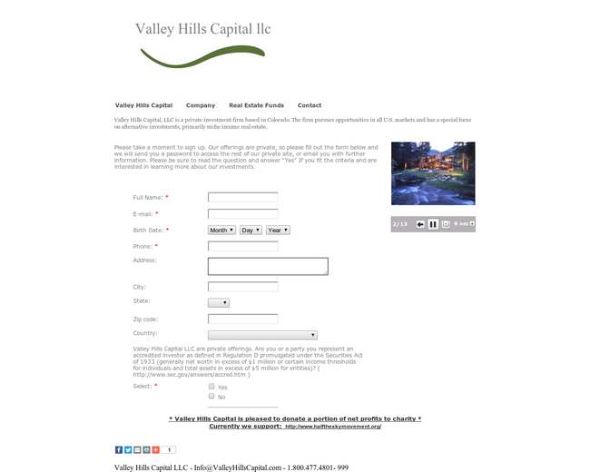 Valley Hills Capital