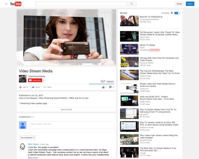 Video Stream Media
