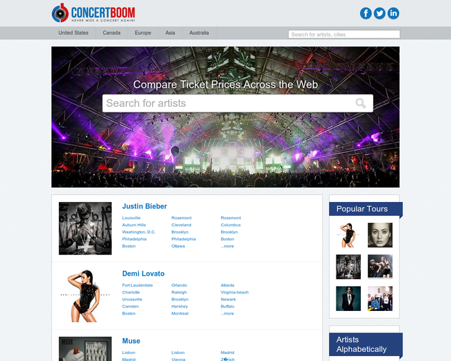 Concertboom