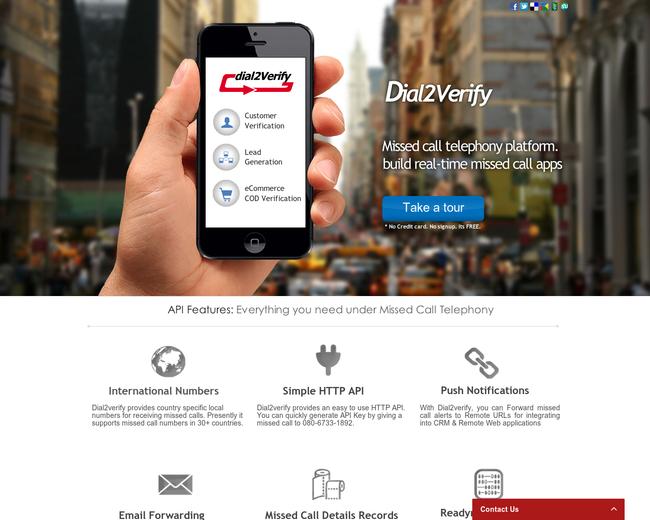 Dial2Verify Platform